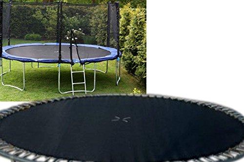 Sprungtuch für 460 cm Trampolin schwarz 15FT mit 90 Ösen Spr