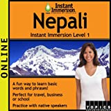 Instant Immersion Nepali - Level 1 (12-month subscription)