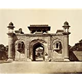 Ram Bagh Gateway, photo Felice Beato (Print On Demand)