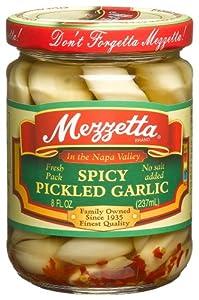 Mezzetta Pickled Spicy Garlic (Pack of 6) by Mezzetta