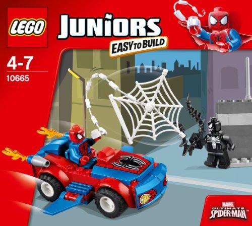 レゴ ジュニア・スパイダーマンのカーアタック 10665