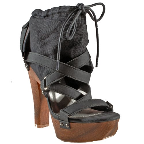 wooden platform sandals. Wooden Platform Sandal