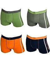 4er Pack Remixx Retro Boxershorts sportiv, aus Baumwolle mit 5% Elasthan. Größen 5-8