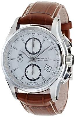 Hamilton Men's H32616553 Jazzmaster Auto Chrono Silver Dial Watch from Hamilton