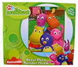 Nick Jr The Backyardigans Blanket - Backyard Explorers Royal Plush Raschel Throw