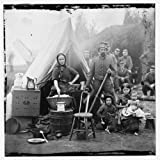 Civil War Reprint Washington, District of Columbia. Tent life of the 31st Penn. Inf. later, 82d Penn. Inf. at Queen's