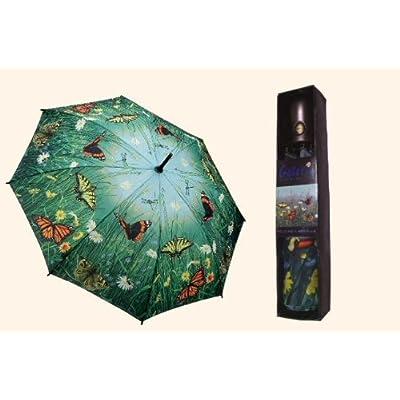 Galleria auto folding umbrella - Hautman Butterflies