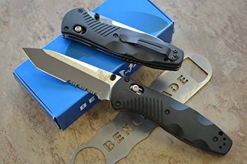 Benchmade 583S Barrage Assisted Opening Knife with FREE Benchmade Bottle Opener