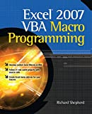 Excel 2007 VBA Macro Programming