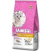 アイムス (IAMS) キャット 下部尿路の健康維持をサポート 避妊・去勢した猫の体重管理用 1-6歳用 うまみチキン味 1.8kg