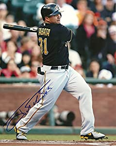 Buy Jose Tabata Pittsburgh Pirates Signed Autographed 8x10 Photo W COA Action by Hollywood Collectibles