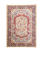 Navaei & Co. Alfombra Persian Kirman Extra Beige/Multicolor 235 x 150 cm