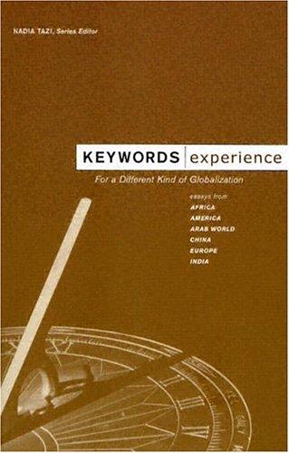 Keywords: Experience (The Keywords Series)