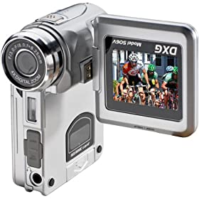 Electronics camera photo camcorders godrules online store dxg dxg 506v 51 megapixel multi functional camera with mpeg4 technology silver camera photo fandeluxe Gallery
