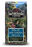 San Francisco Bay Coffee, Southern Pecan Decaf Water Processed Whole Bean Coffee, 12-Ounce Bags (Pack of 3)