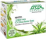 SSCPL Herbals Aloe vera & Shea Butter, Combo pack of 4 soaps, 400gms