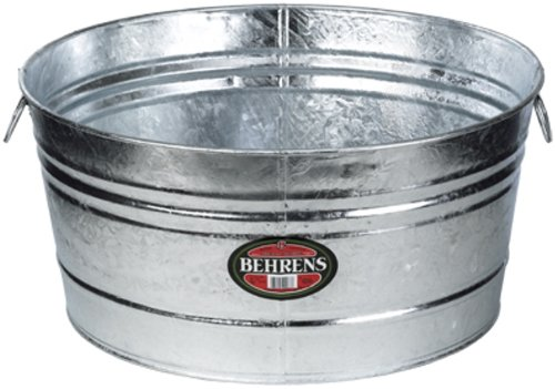 Behrens 7 35-Gallon Round Steel Tub (Watering Trough compare prices)