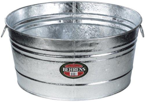 Behrens 35-Gallon Round Steel Tub
