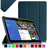 Fintie Samsung Galaxy Tab Pro 10.1 Slim Shell Case Cover - Ultra Slim Lightweight Stand for TabPro 10.1-inch Tablet SM-T520/T525 with Auto Sleep/Wake Feature, Navy