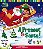 A Present for Santa!: A Lift-the-Flap Book with 45 Flaps! [Dora the Explorer]