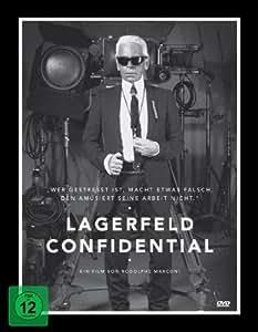 Lagerfeld Confidential - Digipak (inkl. 78-seitigem Buch, DIN A1-Plakat)