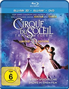Cirque du Soleil: Traumwelten - Limited 3D Edition [Blu-ray 3D + Blu-ray + DVD]