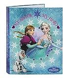 Frozen - Carpeta de cartón de 4 anillas (Safta 511538067)