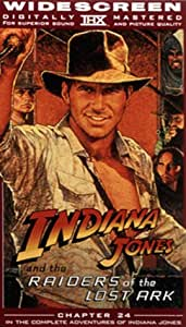 Raiders of the Lost Ark (Widescreen Edition) [VHS]