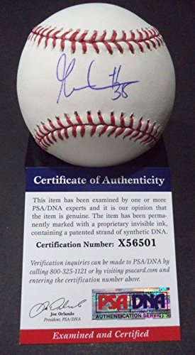 Gabe Kapler Tigers Red Sox Signed Autographed Official MLB Baseball PSA/DNA COA #x56501
