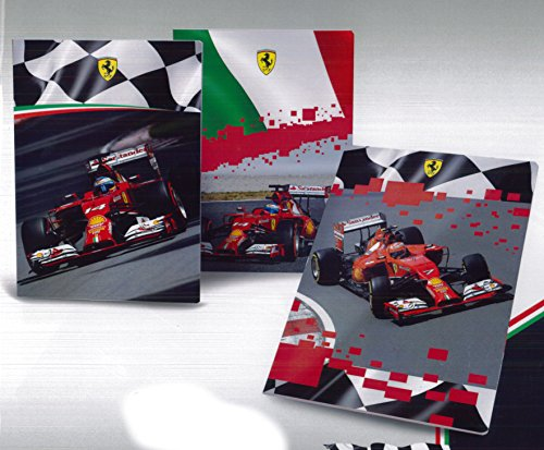 Quad. Maxi Rig. C - Righe con margine Per 4-5 elem. medie e superiori Ferrari Kids