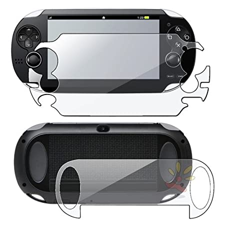 Everydaysource For SONY PSP Vita Full Body Reusable Screen Protector