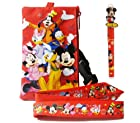 Disney Mickey Mouse Lanyard with Detachable Wallet and 1 Pen