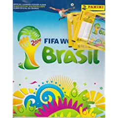 Buy 2014 Panini FIFA World Cup Soccer Sticker Combo (50 packs & 1 album) by Panini