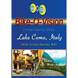 Bike-O-Vision Cycling Journey- Lake Como, Italy (Widescreen DVD #22)