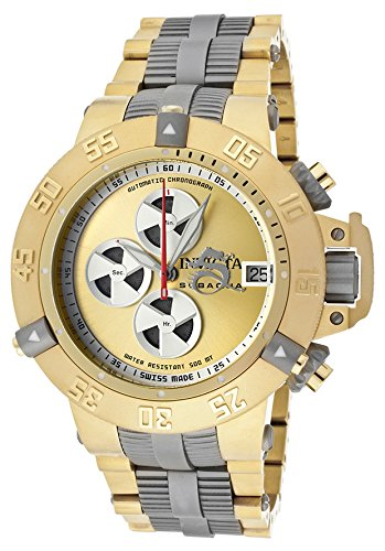 Invicta Men'S 11644 Subaqua Noma Iii Automatic Chrono Gold Tone Watch