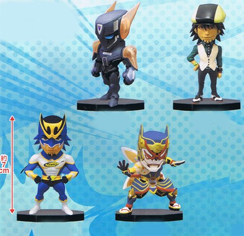 TIGER & BUNNY World Collectable Figure Vol.2 (Wild Tiger, Burnaby, Origami Cyclone, Kaburagi) set of 4 (japan import)