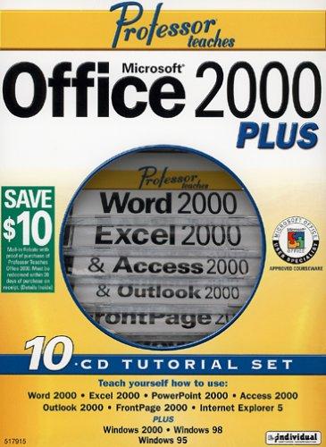 Microsoft Office 2000 PLUS (10CD Tutorial Set)