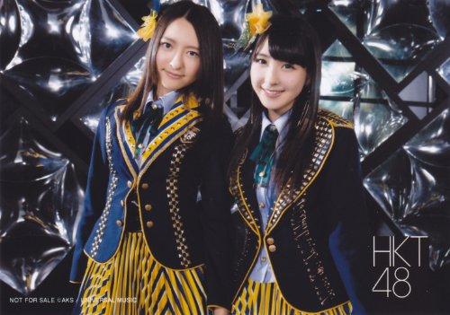 HKT48 公式生写真 メロンジュース 店舗特典 TSUTAYA RECORDS 【森保まどか 松岡菜摘】
