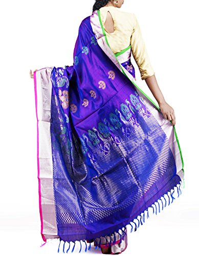 Unnati Silks Silk Saree (Unm11453 _Purple)