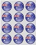 12 australian Flag rice paper fairy /...