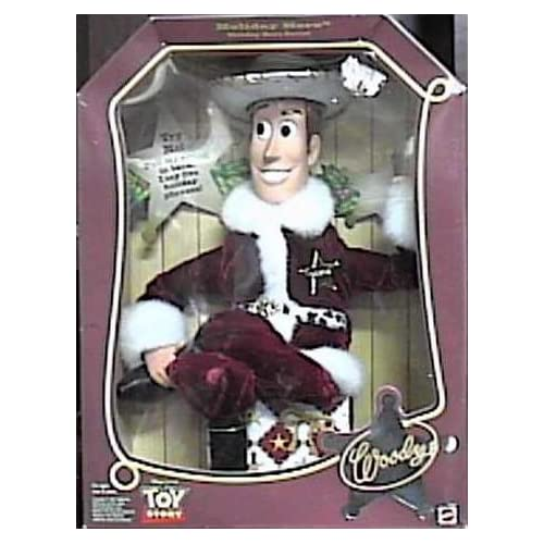 Amazon.com: Toy Story Holiday Hero Talking Pull String Woody Doll