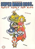 img - for Super Mario Brothers Party Songs For Kids Five Finger Piano Solos book / textbook / text book
