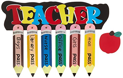 Atlas 6042Z Pencil Shaped School Pass Set, Assorted Color