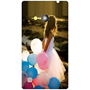 Via flowers Girl Matte Finish Phone Cover For Nokia Lumia 720