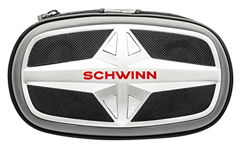 Schwinn Smart Talk Bike Speakers with Calling, Silver