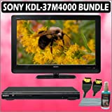 Sony Bravia M-Series KDL-37M4000 37in. 720P LCD HDTV + Sony DVD Player w/ Accessory Kit