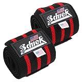 Schiek シーク リストラップ 24インチ ブラック フリーウェイトトレーニング用 (国内正規品)