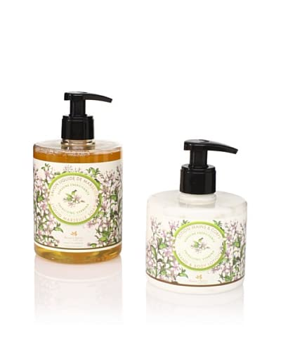 Panier des Sens Energizing Verbena Liquid Soap and Hand and Body Lotion, Set of 2