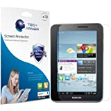 "Tech Armor Samsung Galaxy Tab 2 7"" High Defintion (HD) Clear Screen Protectors - Maximum Clarity and Touchscreen Accuracy [3-Pack] Lifetime Warranty"