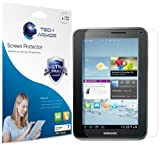 """Tech Armor Samsung Galaxy Tab 2 7"""" High Defintion (HD) Clear Screen Protectors - Maximum Clarity and Touchscreen Accuracy [3-Pack] Lifetime Warranty"""